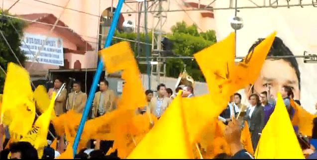 Photo of Nereo Ortega Verde Cierre de Campaña PRD Candidato a Presidente Municipal Zumpango