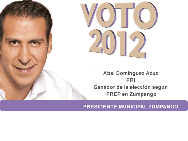 Photo of Abel Dominguez Azuz Ganador Elección para Presidente Municipal de Zumpango