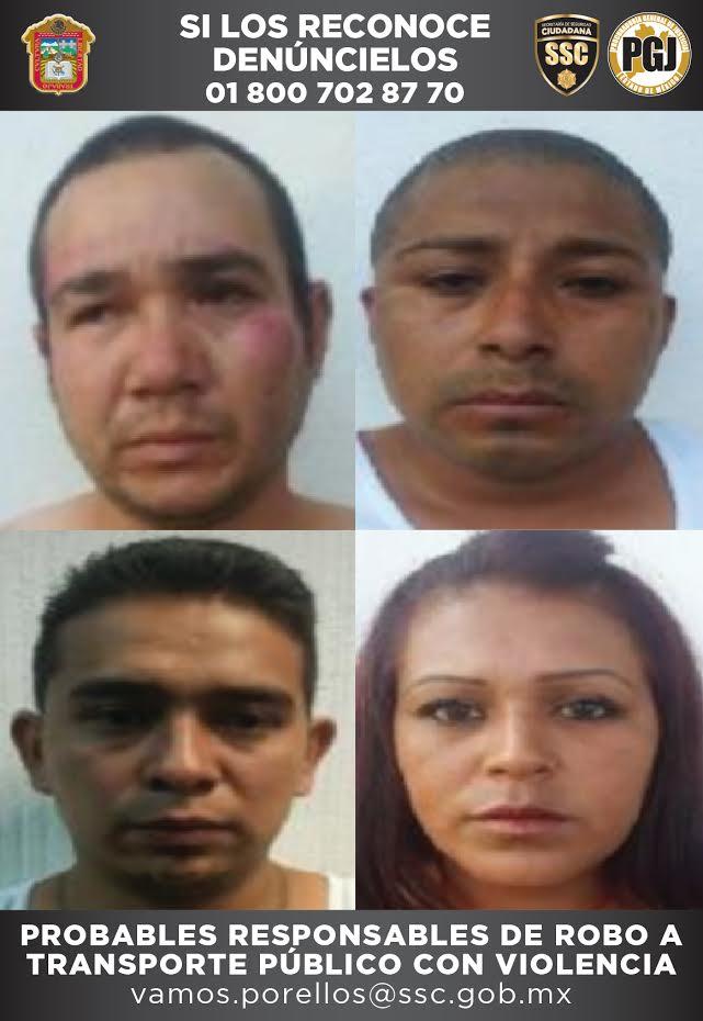 Photo of DETIENEN A CUATRO EN ZUMPANGO POR ROBO A TRANSPORTE PÚBLICO