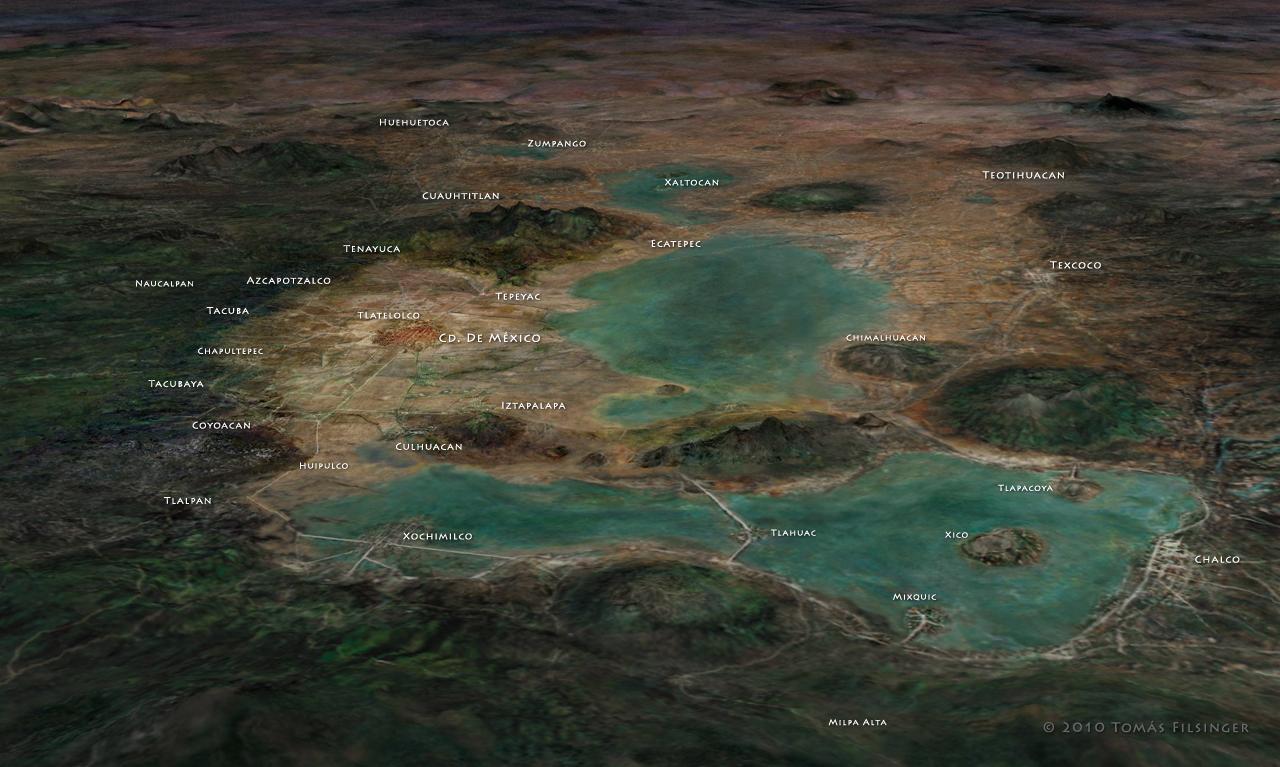 Photo of Lago de Zumpango y otros lagos del Valle de México en 1750