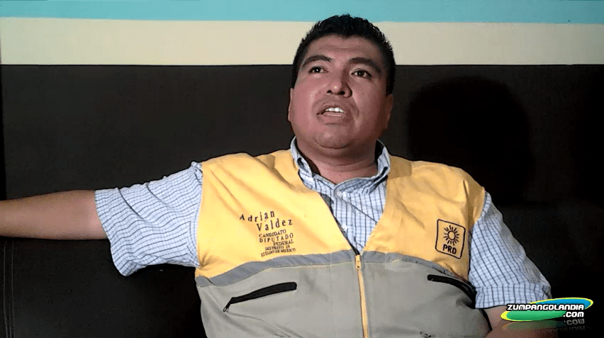 Photo of Entrevista a Adrian Valdez Candidato a Diputado Federal Distrito 28 – PRD