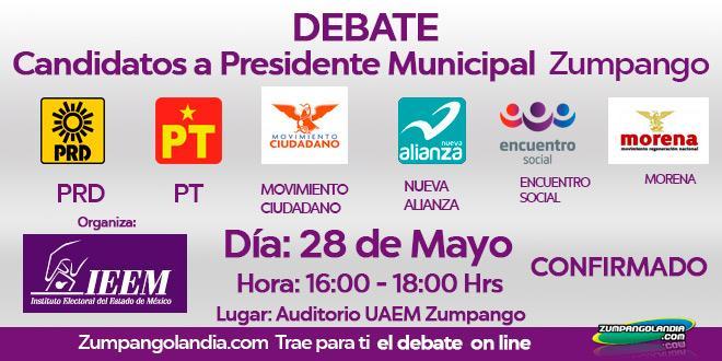 Photo of Debate de Candidatos a Presidente Municipal Zumpango