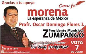 Banner Oscar Morena