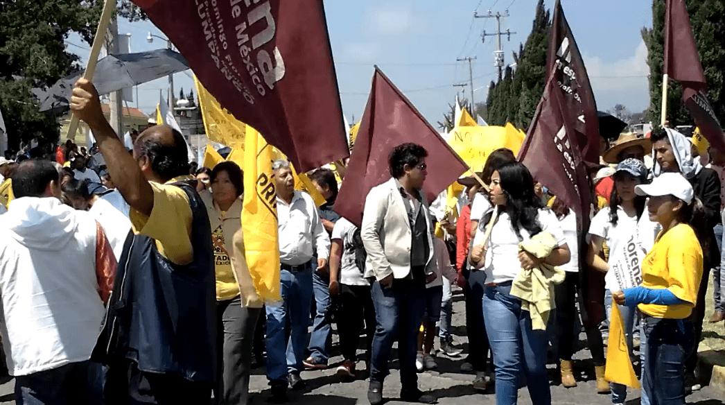Photo of Marcha en Zumpango , piden Anulación y nuevas elecciones