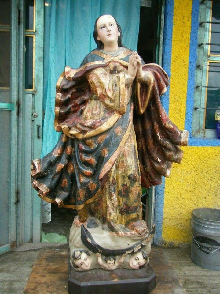 Photo of En Tonanitla: Se roban la virgen de la Concepción