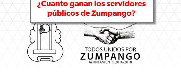 Photo of ¿Cuanto ganan los servidores públicos en Zumpango?