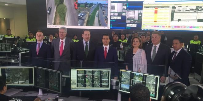 Photo of Peña Nieto y Eruviel Ávila inauguran Centro de Control, Comando, Comunicación, Cómputo y Calidad C5 de Toluca
