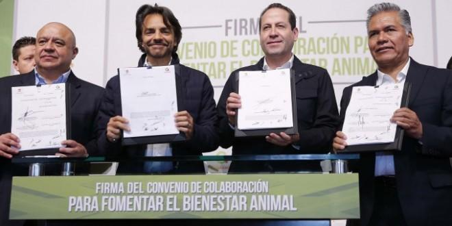 Photo of Eugenio Derbez pone en marcha el Programa Integral de Bienestar Animal del Estado de México