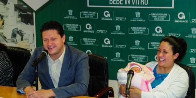 Photo of Nace en Estado de México primer bebé in vitro de la Clínica de Fertilidad de Toluca