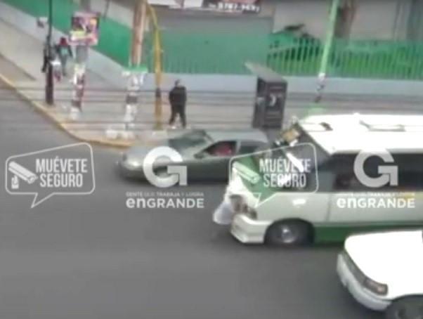 Photo of Sistema de Videovigilancia capta el atropellamiento de una mujer de la tercera edad en Ecatepec Estado de México