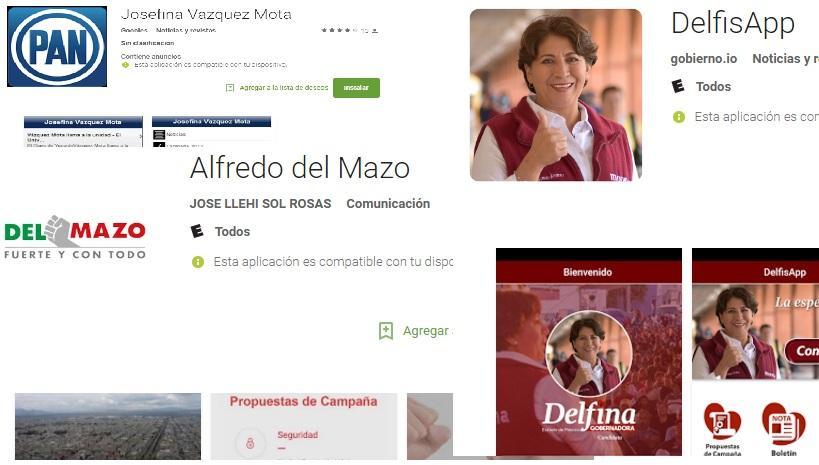 Photo of Candidatos a gobernador en Estado de México hacen campaña a través de aplicaciones para celular Estado de México