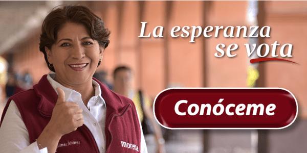 Photo of Delfina Gómez, Candidata a gobernadora por Morena en Zumpango