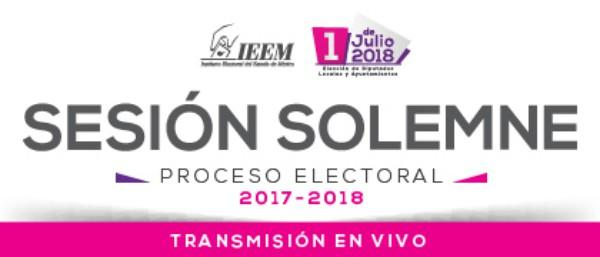 Photo of Inicia proceso electoral 2018 para elegir nuevos alcaldes y diputados en el Estado de México
