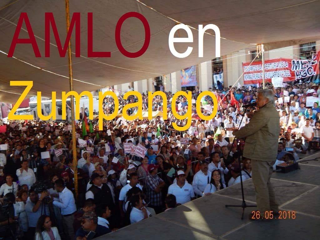 Photo of Acuden miles a mitin de AMLO en Zumpango (VIDEO) MORENA, PT Y PES inundan de simpatizantes la cabecera municipal.
