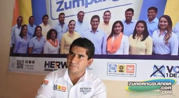 Photo of Entrevista a Herwin Ángeles Hernández, Candidato a Presidente Municipal de Zumpango