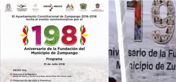 Photo of Festejo del 198 aniversario de la fundación del municipio de Zumpango