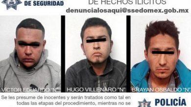 Photo of Detienen a 5 integrantes de una banda de asaltantes en Camino de los Pulqueros Zumpango por robo de camión, portación de arma y privación de la libertad