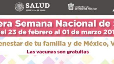 Photo of Instituto de Salud del Estado de México alista Primera Semana Nacional de Salud en Zumpango