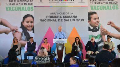 Photo of Alfredo del Mazo arranca en Tequixquiac la Primera Semana Nacional de Salud 2019