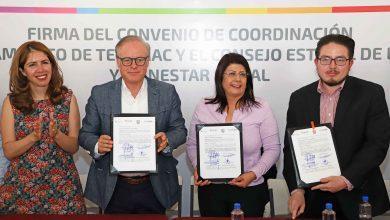 Photo of Tecámac y el Consejo Estatal de la Mujer y Bienestar Social firman convenio para atender violencia de género