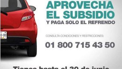 Photo of Recuerda que en el Estado de México tienes hasta el 30 de junio para aprovechar el subsidio de la Tenencia 2019