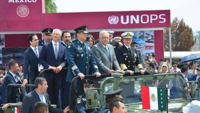 Photo of AMLO inaugura Feria Aeroespacial México 2019 en la Base Aérea de Santa Lucía de Zumpango