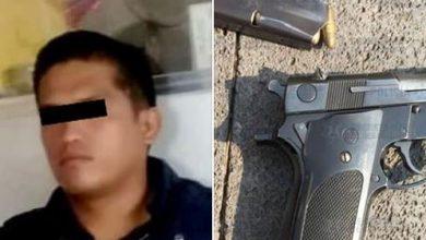 Photo of Detienen a sujeto en Jaltenco por la portación ilegal de arma de fuego calibre nueve milímetros