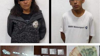 Photo of Policías del Estado de México capturan a dos narcomenudistas con cocaína en Zumpango