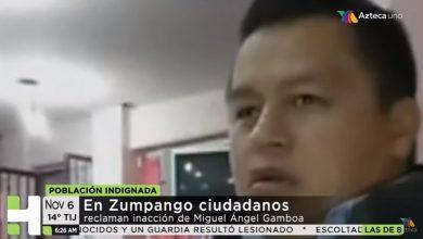 Photo of Tv Azteca revela que Miguel Ángel Gamboa es complice de desapariciones en Zumpango VIDEO